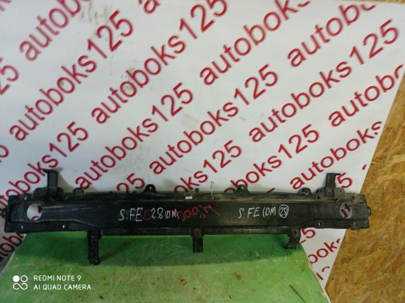Усилитель бампера Hyundai Santa Fe DM D4HA 2013 задний
