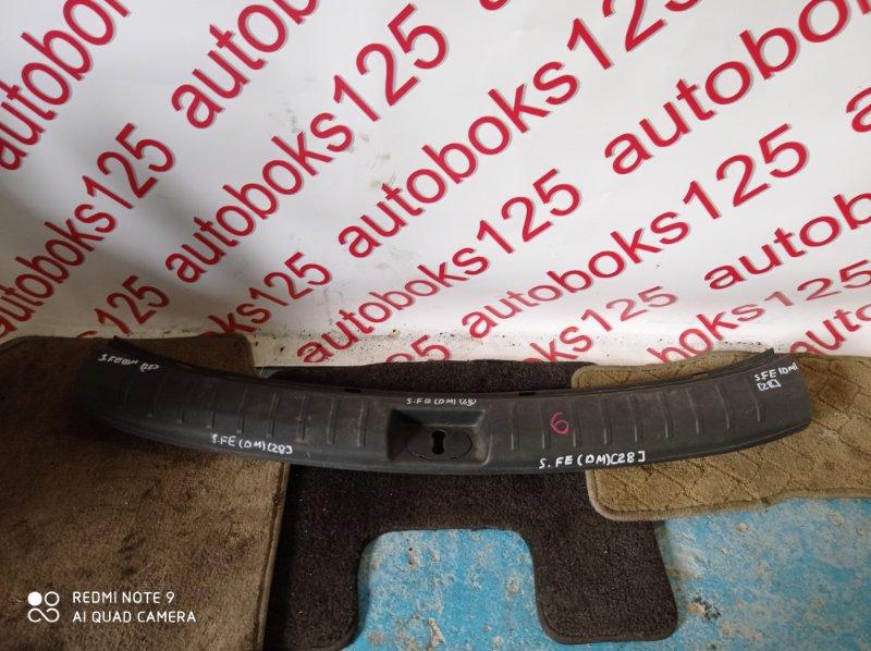 Накладка замка багажника Hyundai Santa Fe DM D4HA 2013