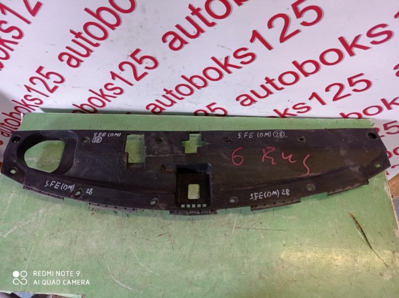 Защита замка капота Hyundai Santa Fe DM D4HA 2013
