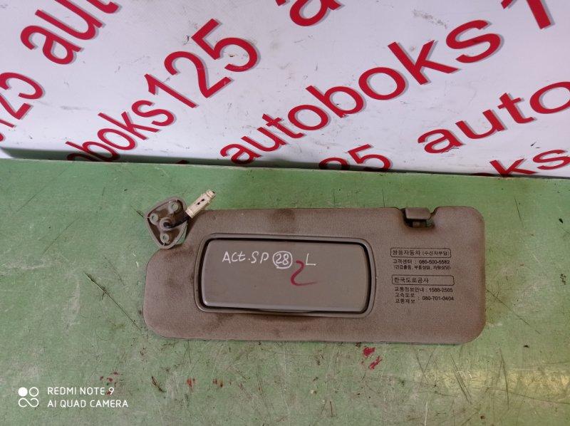 Козырек солнцезащитный Ssangyong Actyon Sports D20DT (664) 2010 передний левый