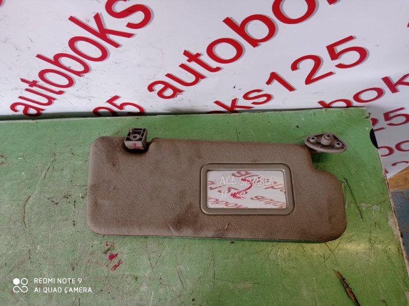 Козырек солнцезащитный Ssangyong Actyon Sports D20DT (664) 2010 передний правый