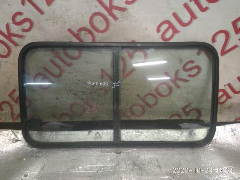 Стекло двери Hyundai Starex A1 D4BH 2005 левое