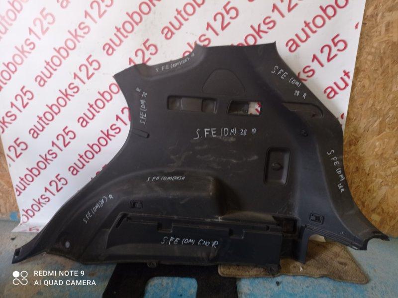 Обшивка багажника Hyundai Santa Fe DM D4HA 2013 задняя правая
