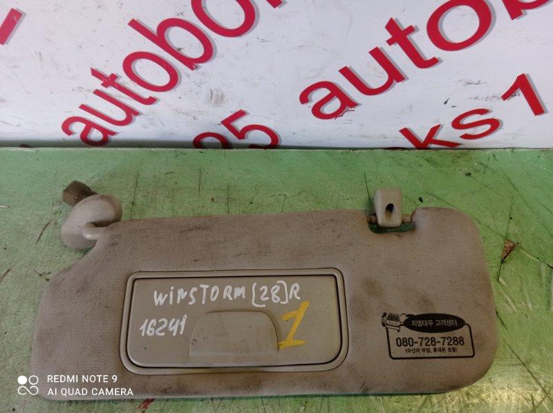 Козырек солнцезащитный Daewoo Winstorm KLAC Z20S 2008 передний правый