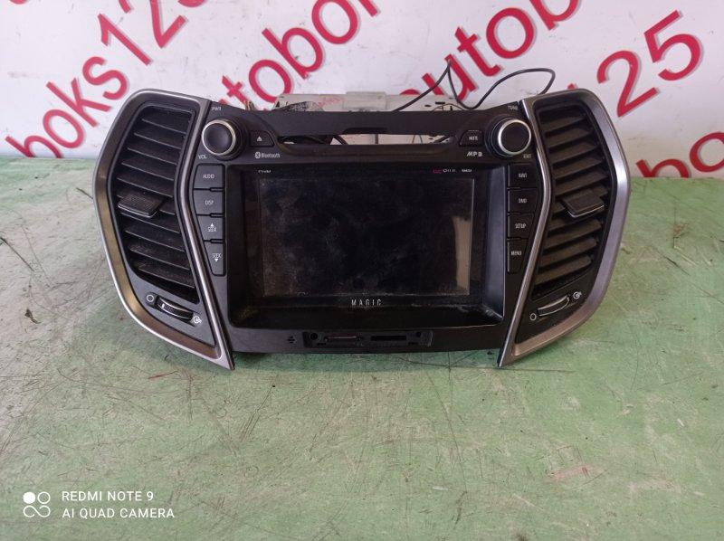Магнитофон Hyundai Santa Fe DM D4HA 2013