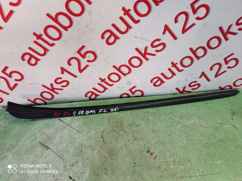 Молдинг лобового стекла Hyundai Santa Fe DM D4HA 2013 левый