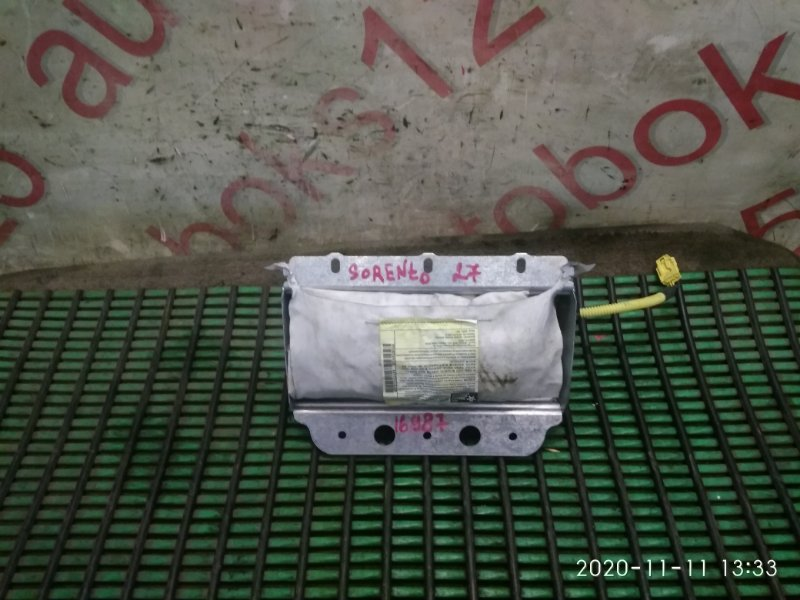 Подушка безопасности пассажира Kia Sorento BL D4CB 2006