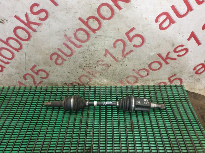 Привод Ssangyong Rexton RJN D27DTP 2008 передний правый