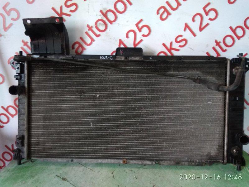 Радиатор двс Ssangyong Actyon CK D20DTF (671950) 2011