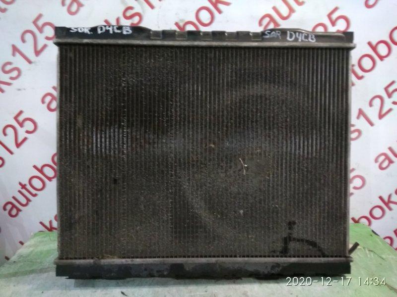Радиатор двс Kia Sorento BL D4CB 2003