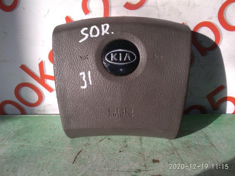 Подушка безопасности водителя Kia Sorento BL 2003