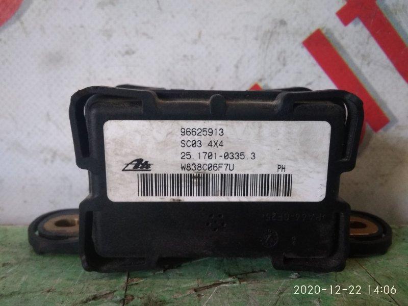 Датчик ускорения Chevrolet Captiva KLAC Z20S 2008