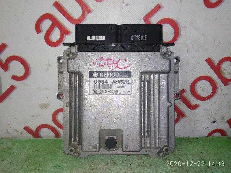 Блок управления двигателем Kia K3
