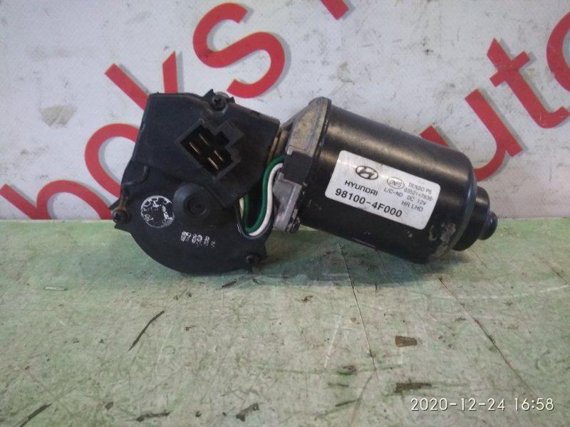 Мотор дворников Hyundai Porter D4CB 2007