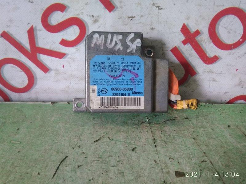 Блок управления аирбаг Ssangyong Musso FJ OM662 (662 920) 2003