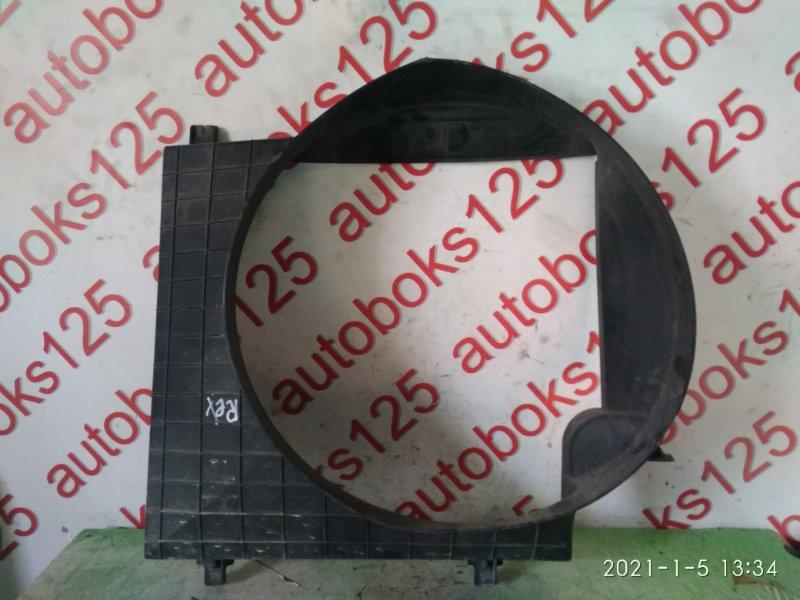 Диффузор радиатора двс Ssangyong Rexton RJN D27DT