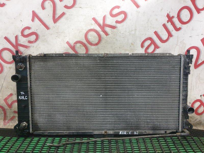 Радиатор двс Ssangyong Actyon CK D20DTF(671950) 2012