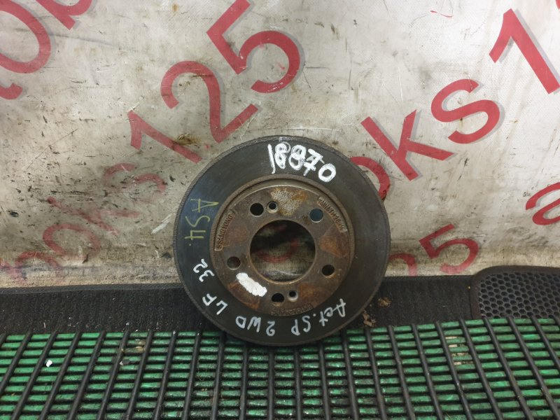 Тормозной диск Ssangyong Actyon Sports D20DT (664) 2006 передний левый