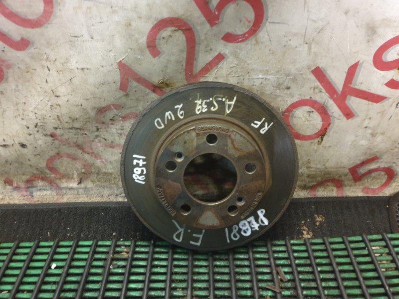 Тормозной диск Ssangyong Actyon Sports D20DT (664) 2006 передний правый