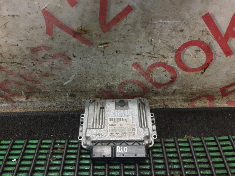 Блок управления двигателем Kia Rio.pride G4EF 2010