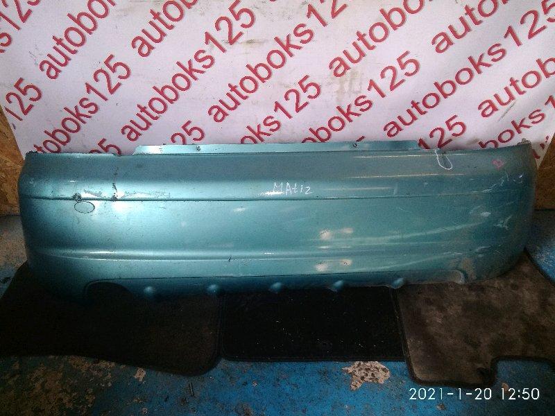 Бампер Daewoo Matiz 2006 задний
