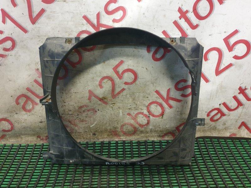 Диффузор радиатора двс Ssangyong Rodius D27DT 2007