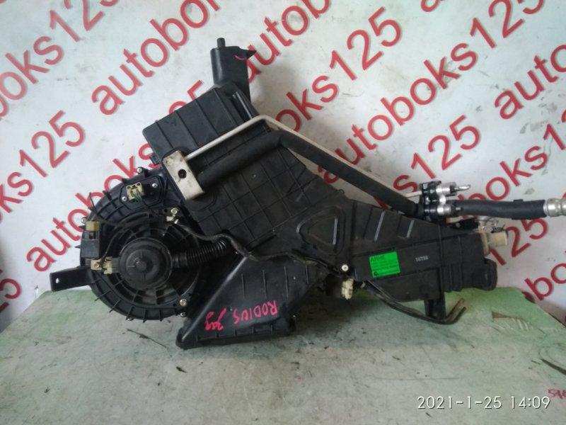 Печка салона Ssangyong Rodius D27DT 2005 задняя