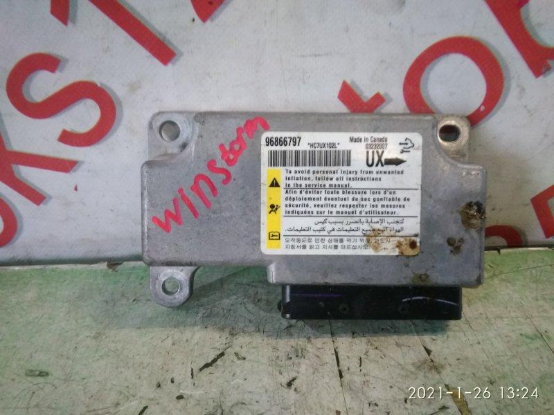 Блок управления аирбаг Daewoo Winstorm KLAC Z20S 2008