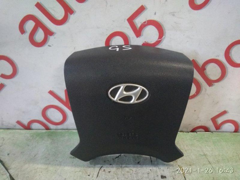 Подушка безопасности водителя Hyundai Grand Starex TQ D4CB 2008