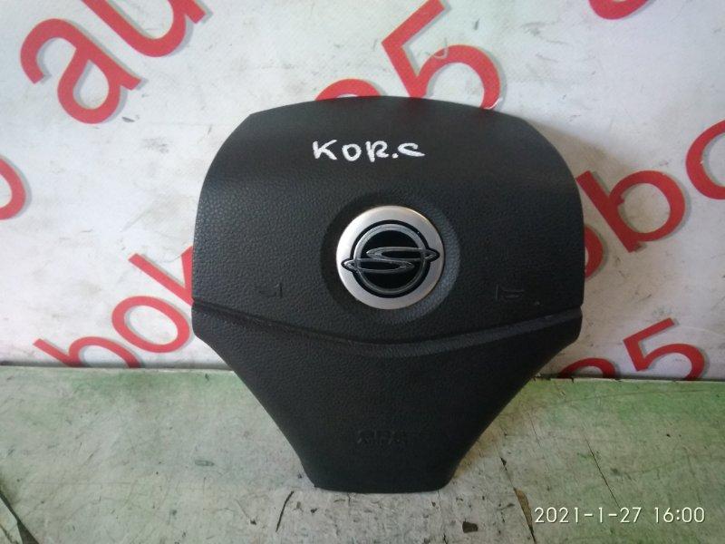 Подушка безопасности водителя Ssangyong Actyon CK D20DTF (671950) 2012