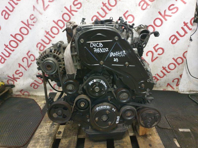 Двигатель Hyundai Porter D4CB 2006