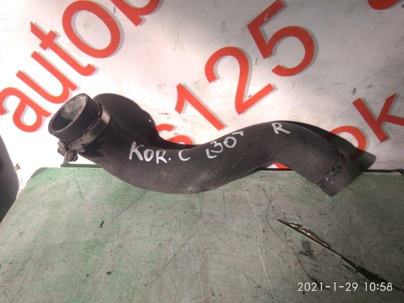 Патрубок радиатора Ssangyong Actyon CK D20DTF (671950) 2012 правый