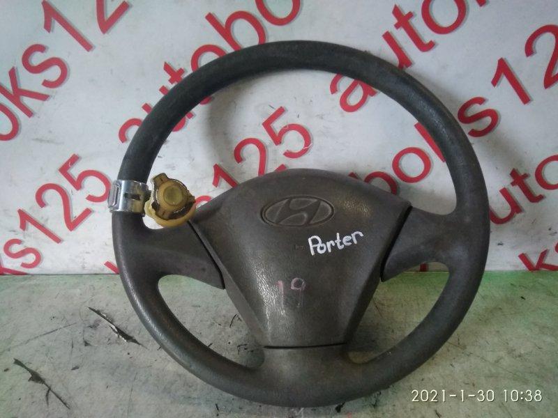 Руль Hyundai Porter D4CB 2007