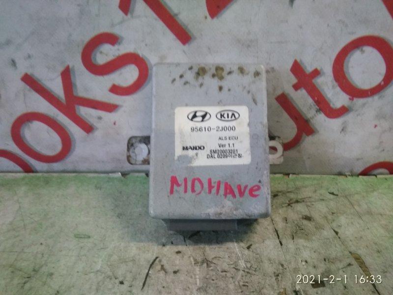 Блок управления пневмоподвеской Kia Mohave HM D6EA 2008
