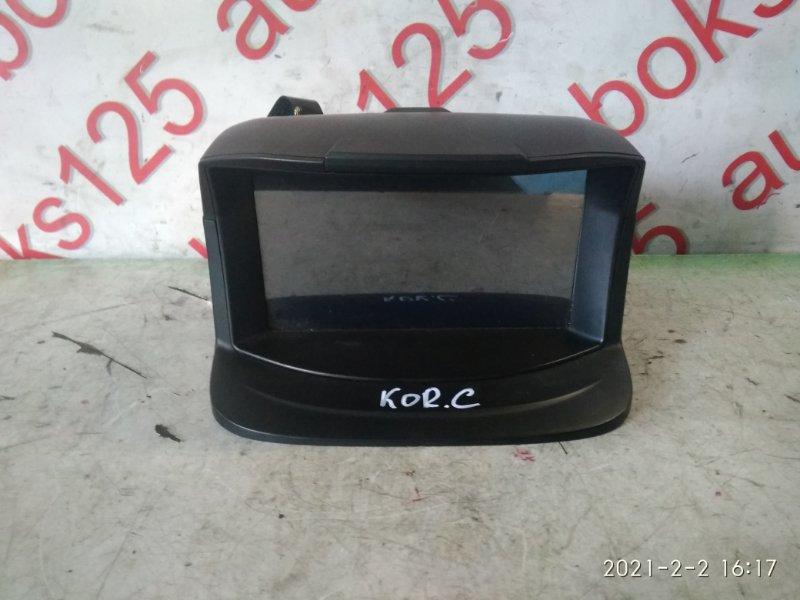 Монитор Ssangyong Actyon CK D20DTF (671950) 2012