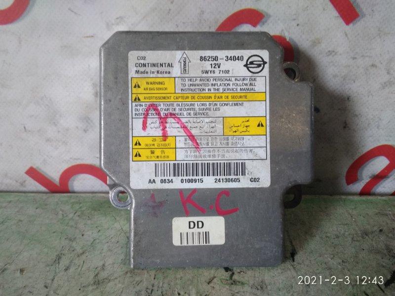 Блок управления аирбаг Ssangyong Actyon CK D20DTF (671950) 2011