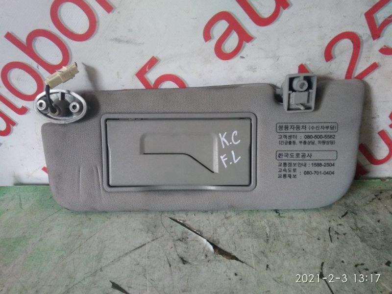 Козырек солнцезащитный Ssangyong Actyon CK D20DTF (671950) 2011 передний левый