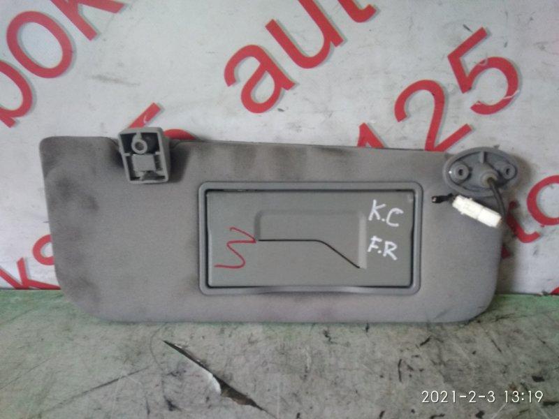 Козырек солнцезащитный Ssangyong Actyon CK D20DTF (671950) 2011 передний правый