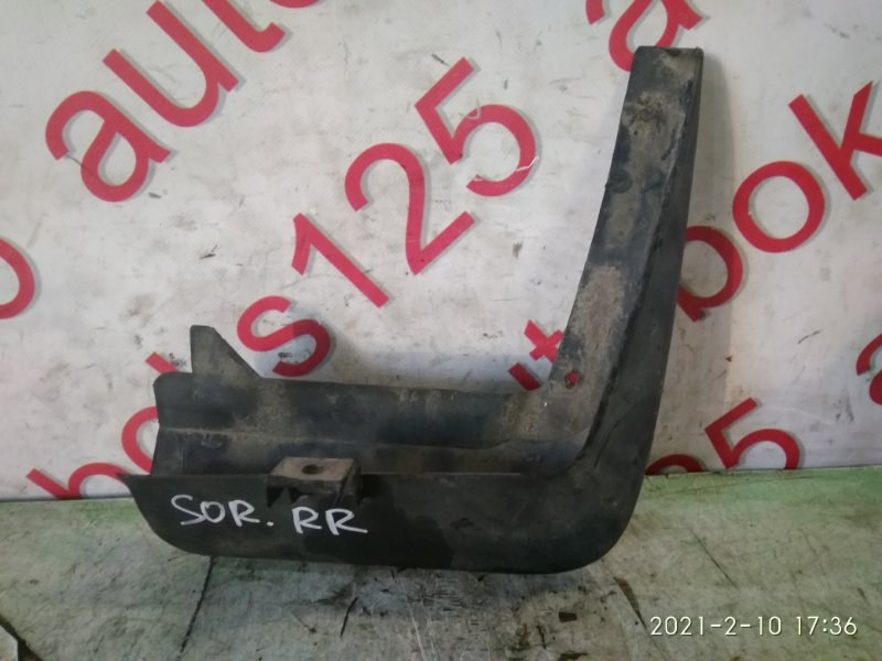 Брызговик Kia Sorento BL D4CB 2003 задний правый