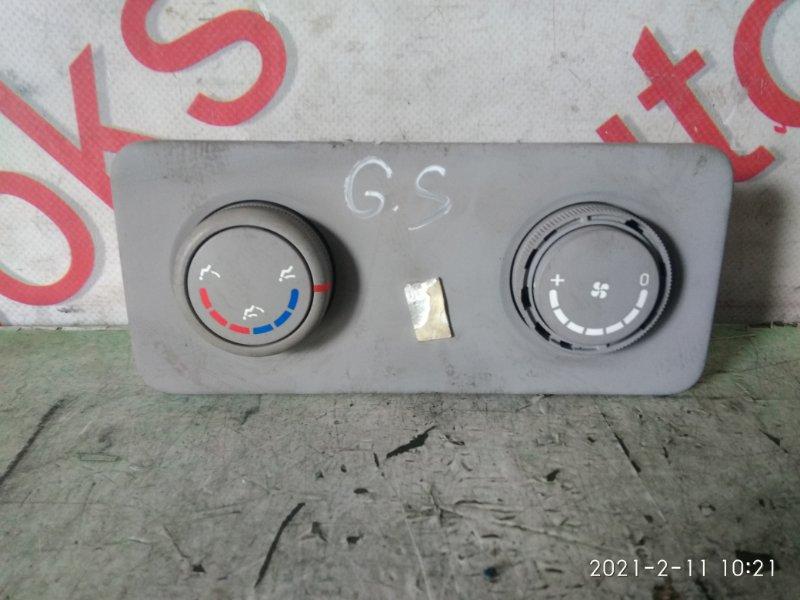 Блок управления климат-контролем Hyundai Grand Starex TQ D4CB 2008 задний