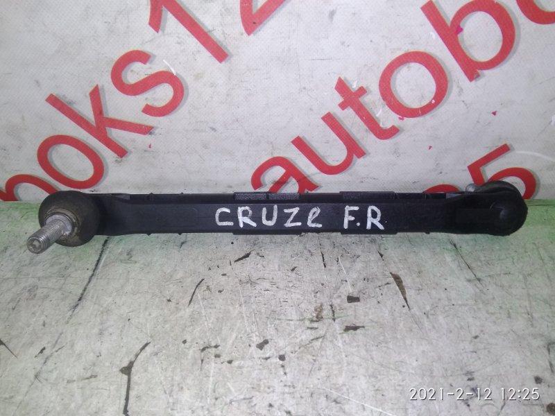 Стойка стабилизатора Chevrolet Cruze J300 F18D4 2010 передняя правая