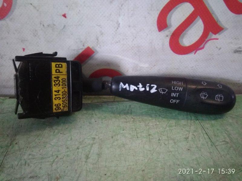 Переключатель дворников Daewoo Matiz 2006