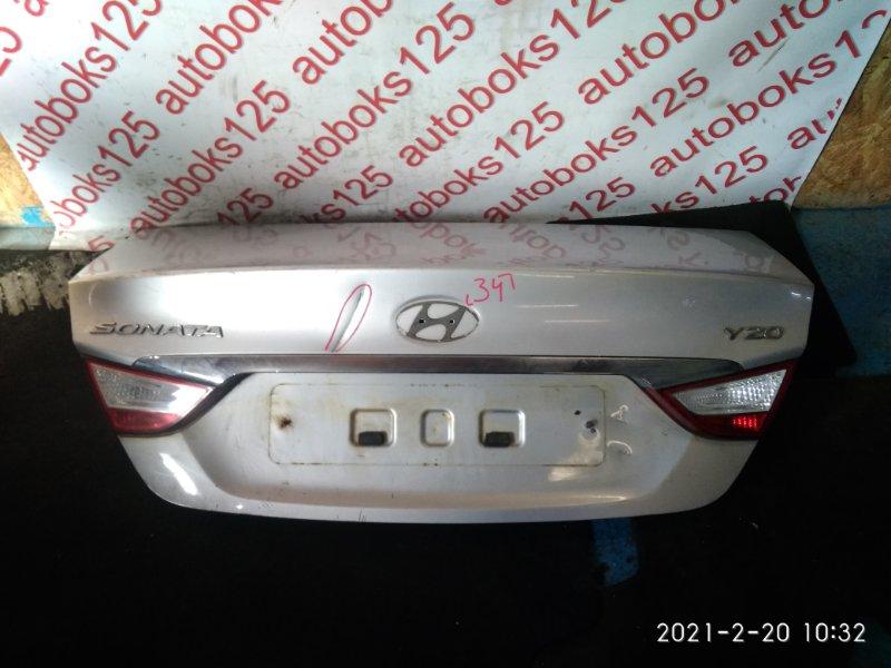 Крышка багажника Hyundai Sonata YF 2011