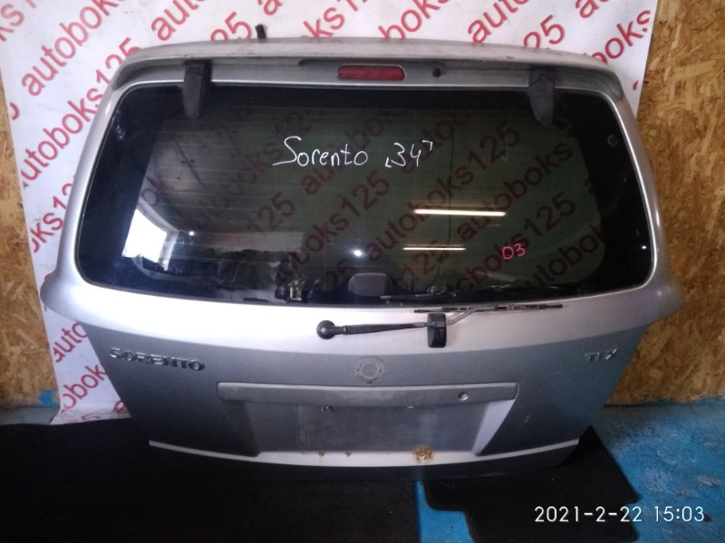 Дверь 5-я Kia Sorento BL 2003