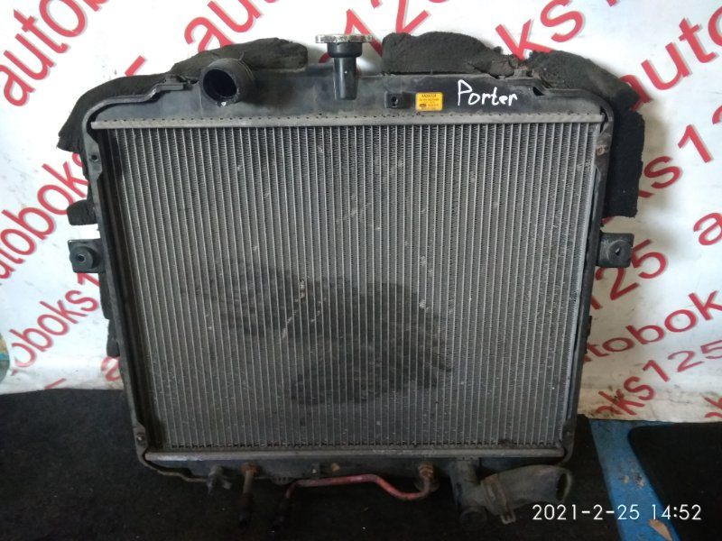 Радиатор двс Hyundai Porter D4CB 2007