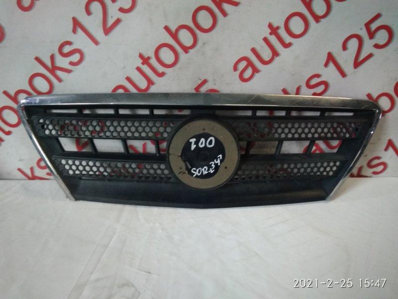 Решетка радиатора Kia Sorento BL D4CB 2005