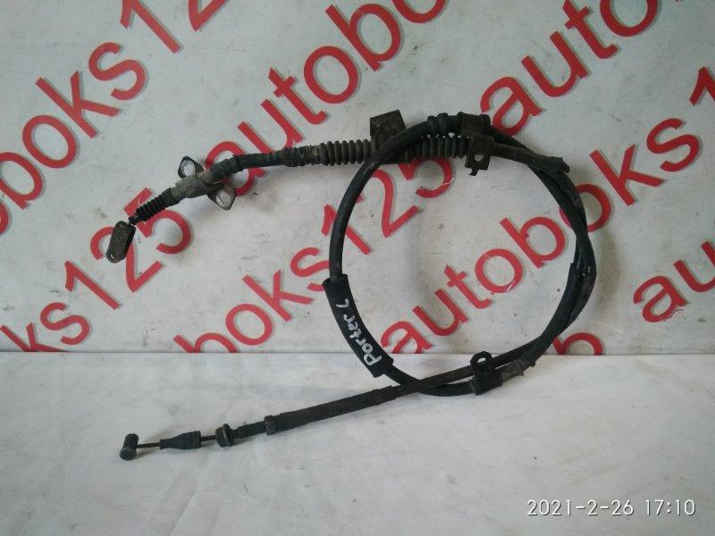 Трос ручника Hyundai Porter D4CB 2007 задний левый