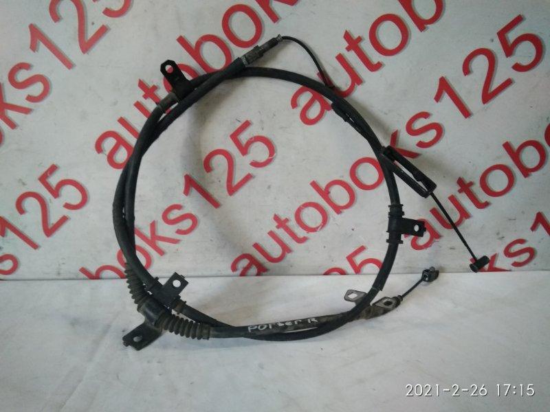 Трос ручника Hyundai Porter D4CB 2007 задний правый