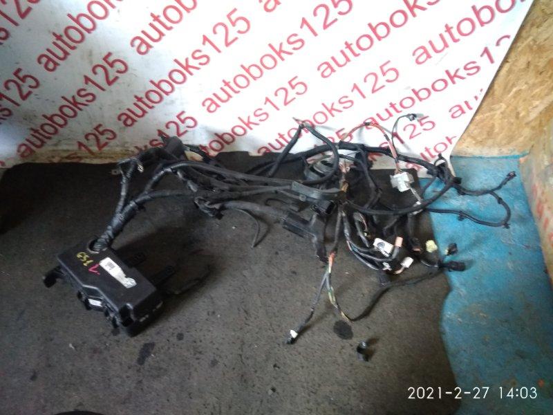 Проводка двигателя Hyundai Grand Starex TQ D4CB 2009 левая