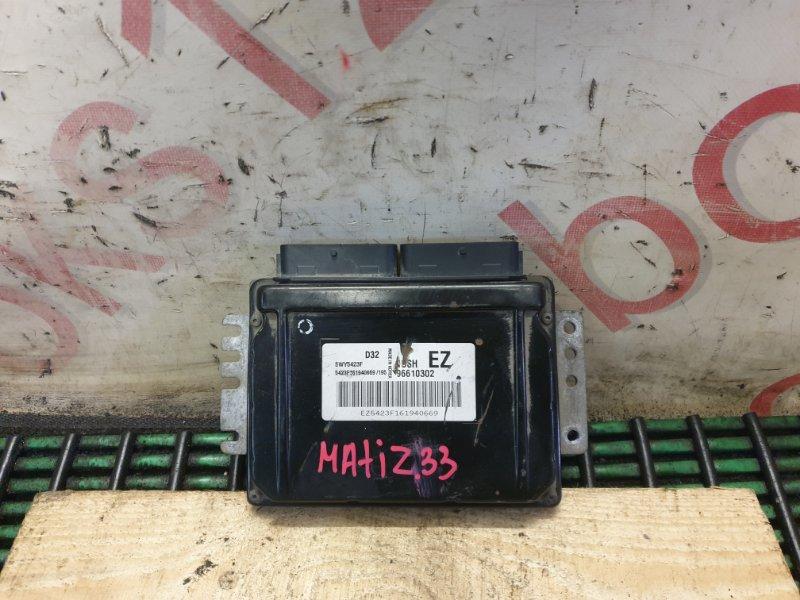 Блок управления двигателем Daewoo Matiz EZ F8CV 2001